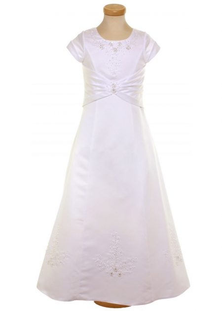 High Quality Beautifully Beaded Dress For Communion