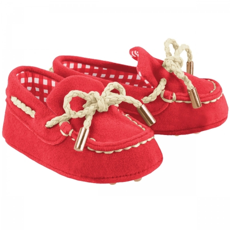 Mayoral Baby Boys Red Moccasins Pram Shoes