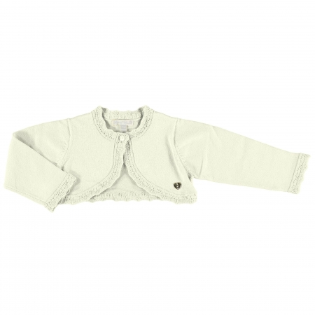 Baby Girls Ivory Frills Cardigan From Mayoral