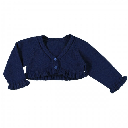 Baby Girls Navy Cardigan By Mayoral