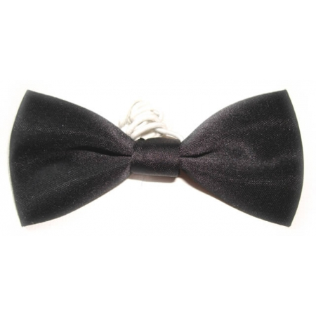 boys black bow tie 6m to 12yrs cachet