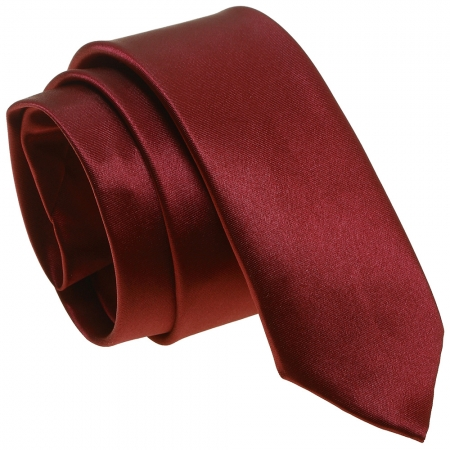 Boys burgundy tie 5 to 14 Years