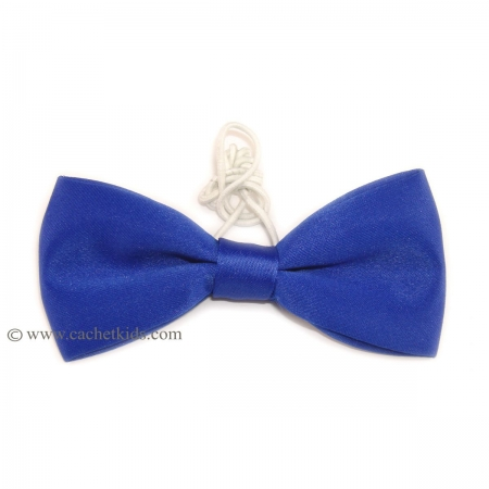 Boys bow tie in royal blue 6m To 12yrs