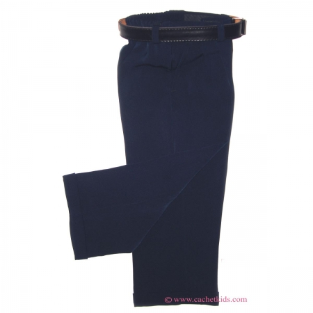 2 To 8 years boys smart wedding trousers in navy