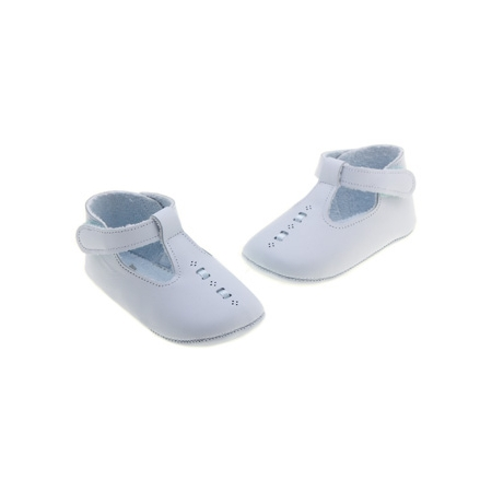 Baby Girls and Boys Blue Cuquito Shoes