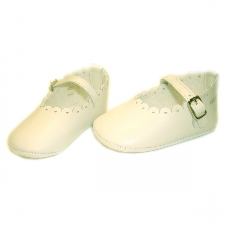 Baby Girls Cuquito Shoes In White