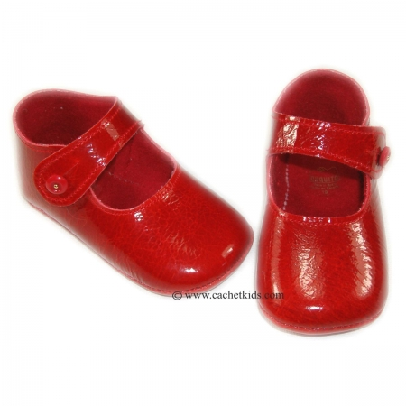 Cuquito Baby girls shoes Sales in red