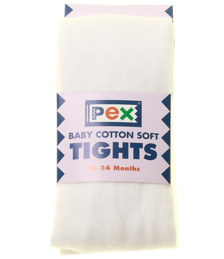 Baby And Toddler Winter White Tights from PEX