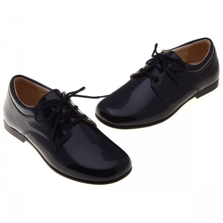 Really Nice Pretty Originals Boys Navy Shoes In Patent Leather