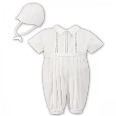 Sarah Louise Boys Ivory Christening Outfit