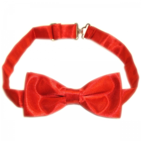 Boy Communion Red Bow Tie