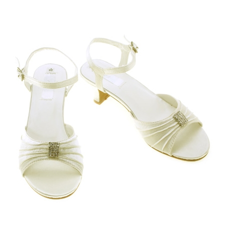5865bee6ad2 SALE Special Occasions Ivory Shoes Or Childrens Bridesmaid Ivory Shoes. Double  tap to zoom