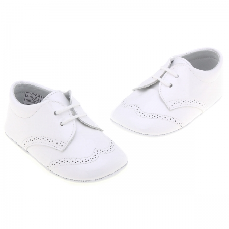 Baby Boys White Shoes Leather
