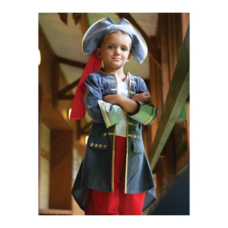 Boys Captain of The Pirate Outfit