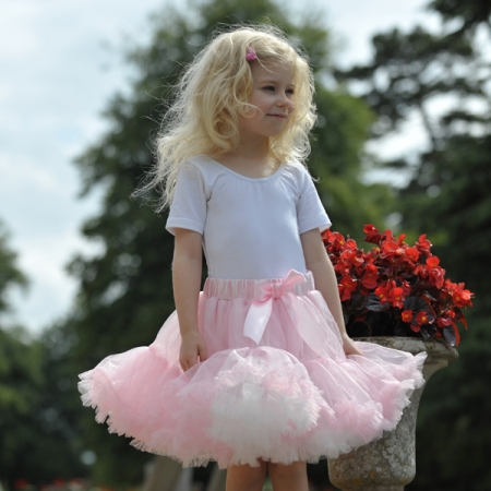 Pink Frothy Tutu Skirt For 3 Plus Years
