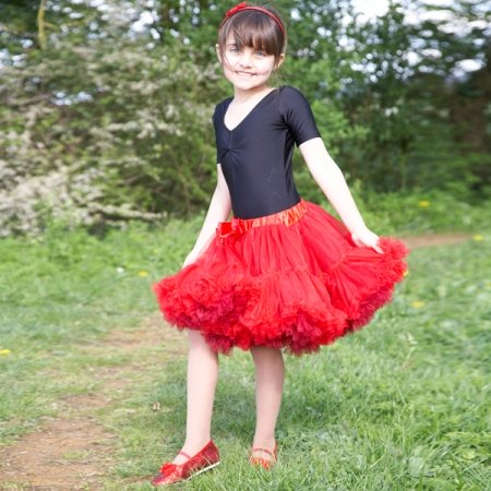 Frothy Red Tutu Skirt