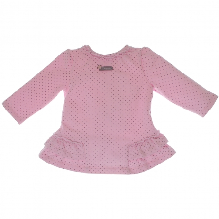 Tutto Piccolo Sales Baby Girls Pink Spotty Dress